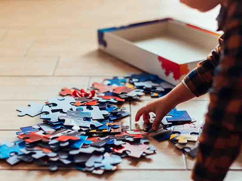 Keep Your Kid Busy By Making Him Solve Puzzles
