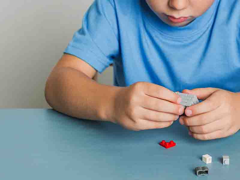 Building Lego With Kids