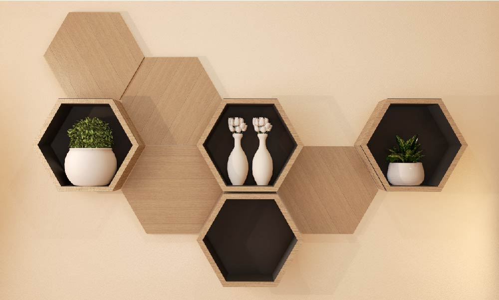Different Geometrical Designs To Lift Up Your Living Room Interiors