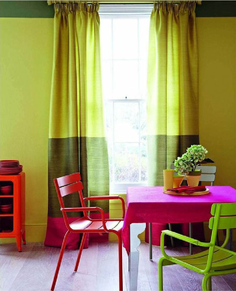 Colour Blocking To Add Sparkle To Your Living Room Decor