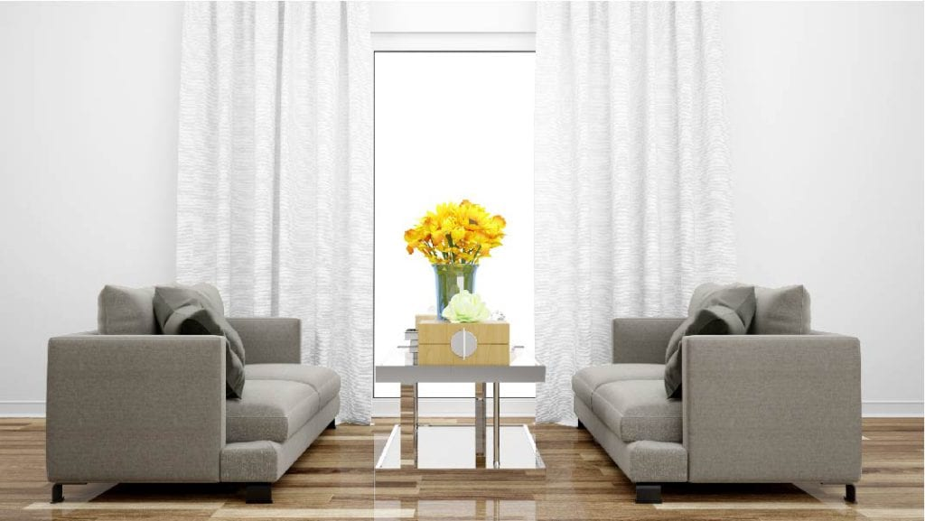 Realign The Setting To Lift Up Living Room Interiors