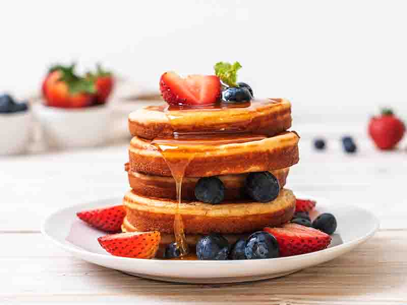 Basic Healthy Pancake Recipe