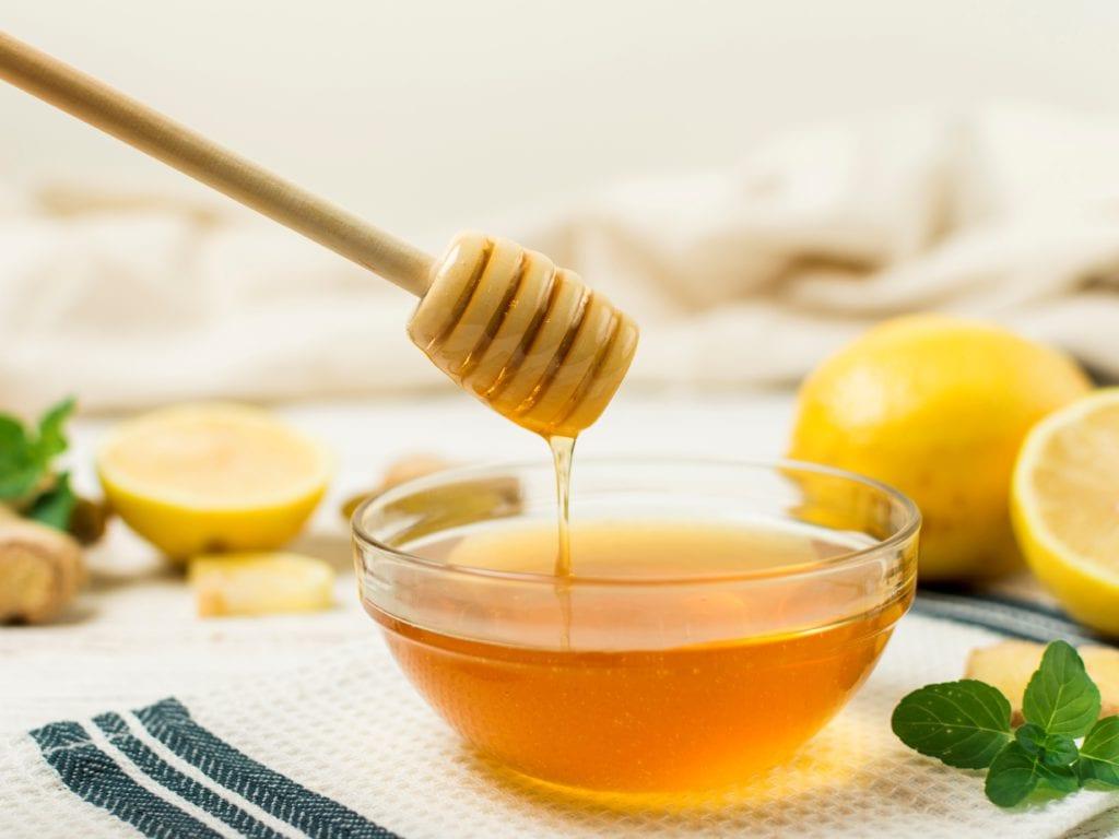 Honey And Lemon Foot Scrub