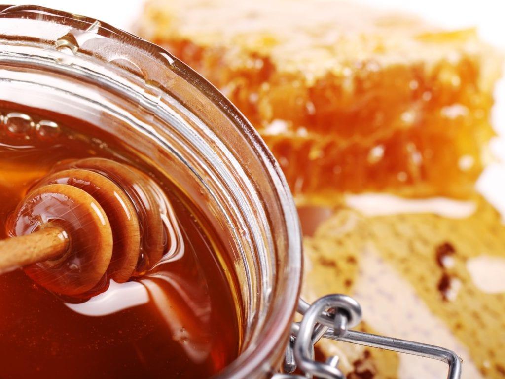 DIY Honey And Sugar Foot Scrub
