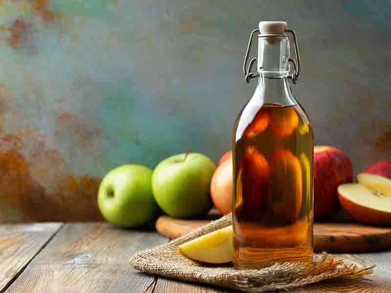 Apple Cider Vinegar Hair Spa Treatment