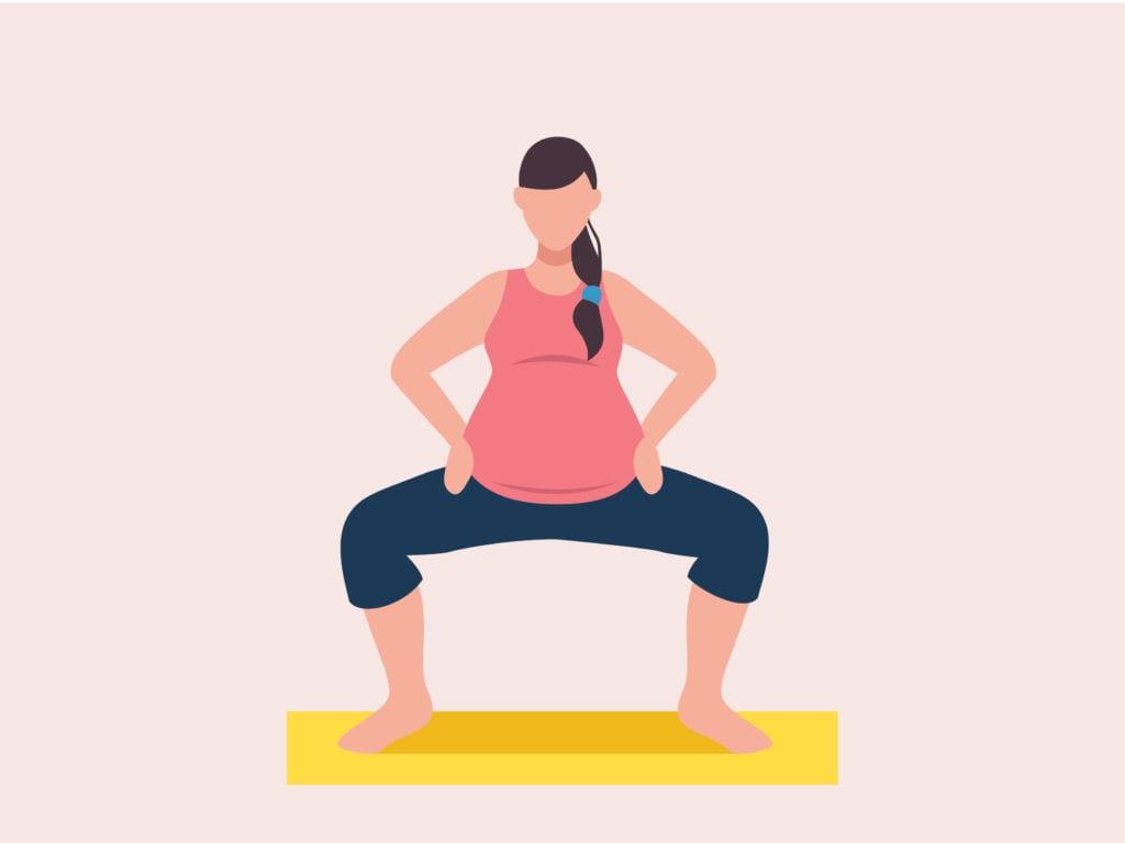 Deep Squat During Pregnancy