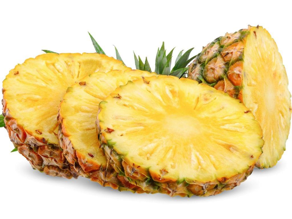 DIY Pineapple And Yogurt Foot Scrub
