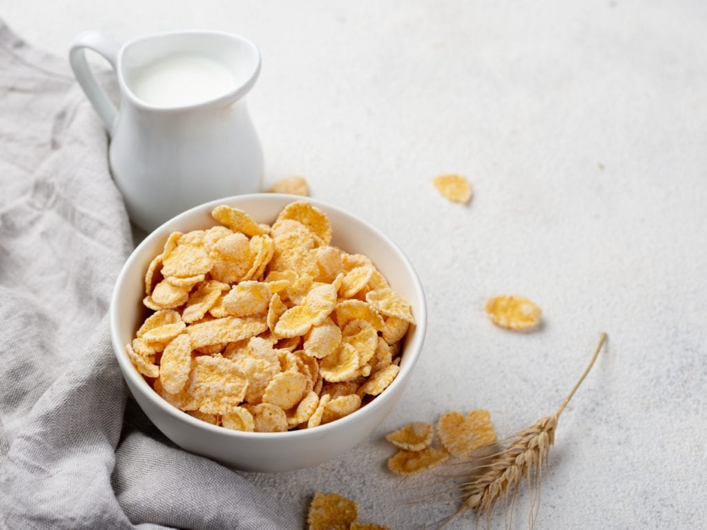 Corn Flakes - A Rich Source Of Calcium