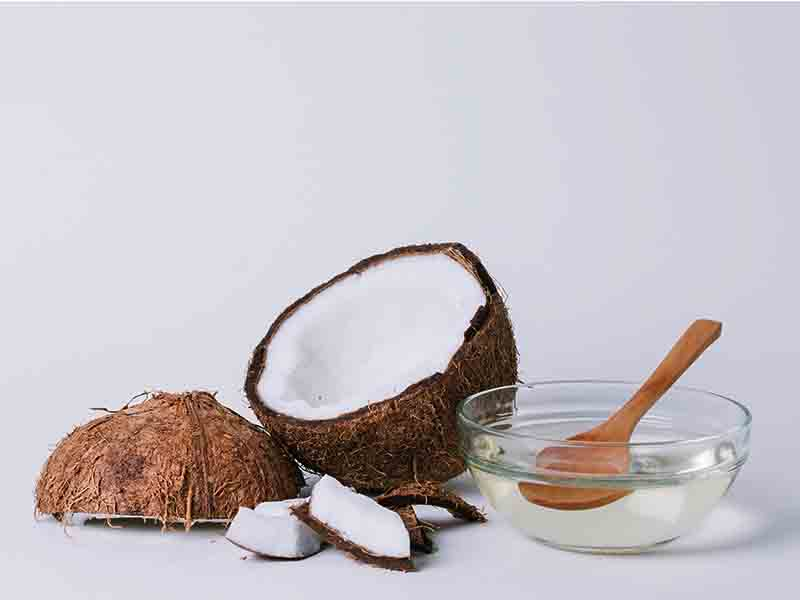 Get Rid Of Eye Bags With Coconut Oil