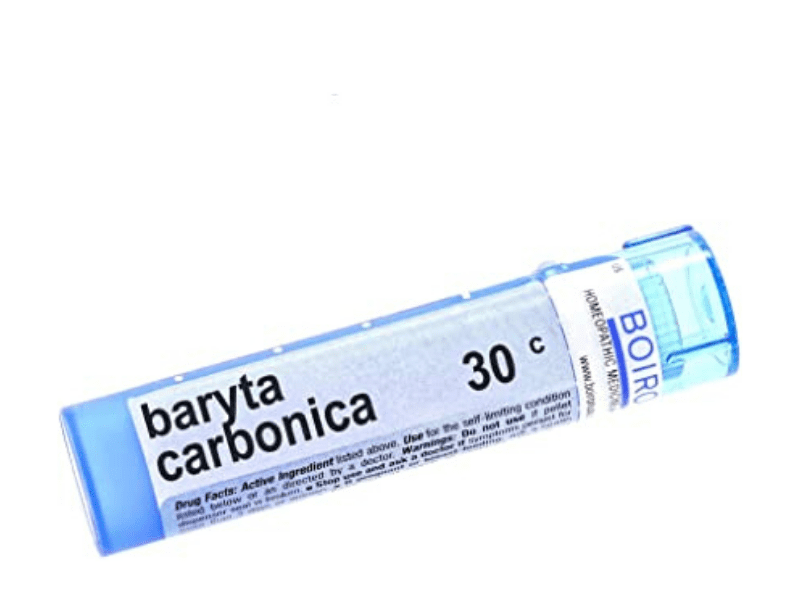 Baryta Carbonica For Hair Loss