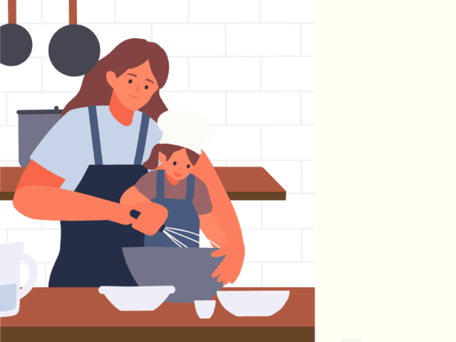 Cook With Your Kids To Keep Them Busy