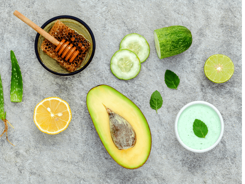 Avocado Mask For Dry Skin