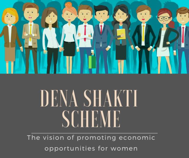 Go For Dena Shakti Scheme For Business Loan