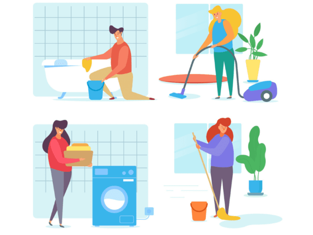 Take Up Household Chores While Self Isolating