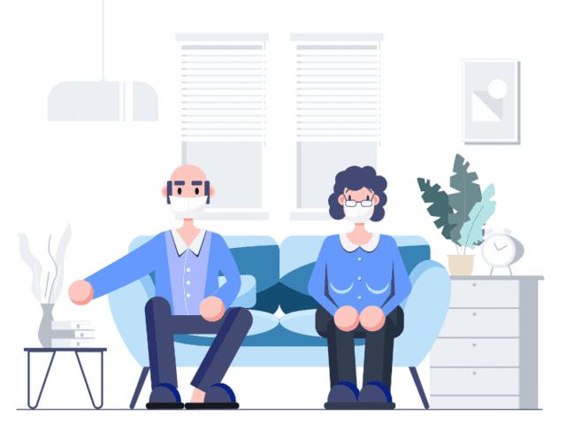 Don't Visit Senior Citizens While In Self Quarantine