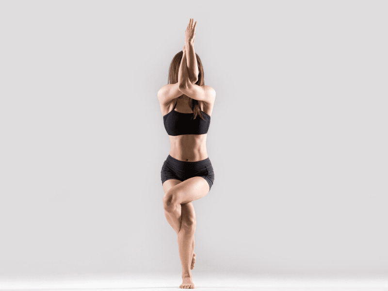 Garudasana For Better Concentration At Work