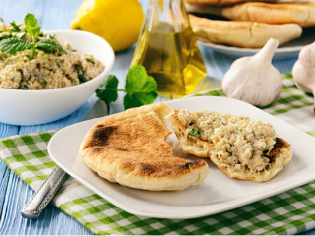 Greek Pita Spread For Potluck