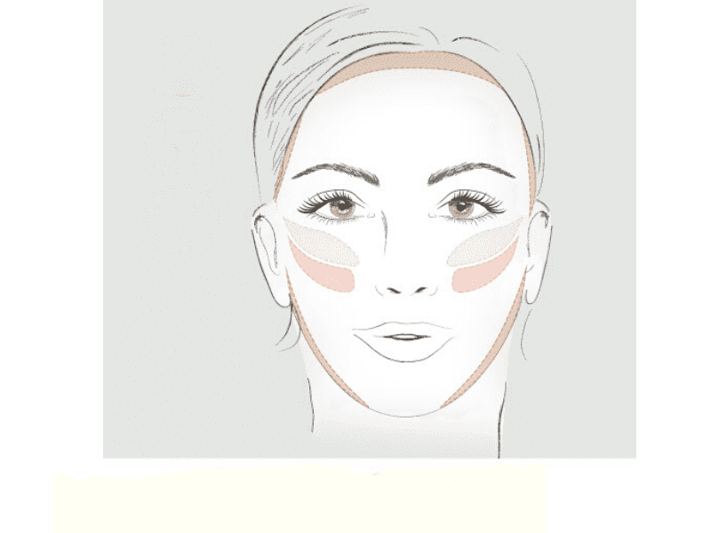 Face Contouring For Oval Face