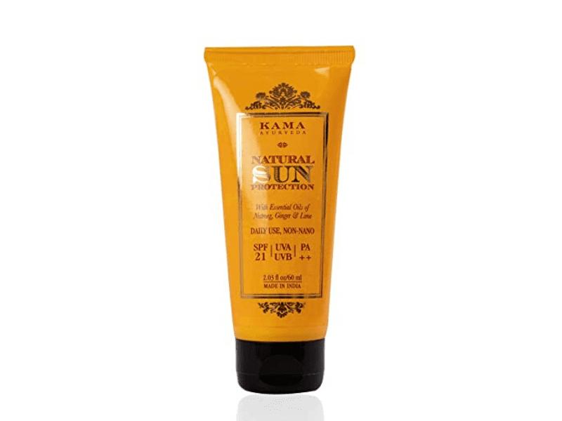 Kama Ayurveda Natural Sun Protection SPF 21 Sunscreen