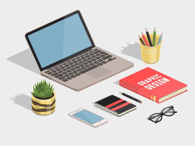 Keep Your Work Desk Decor Simple