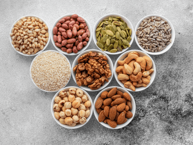 Grain And Nut Nutrition For Hair Health