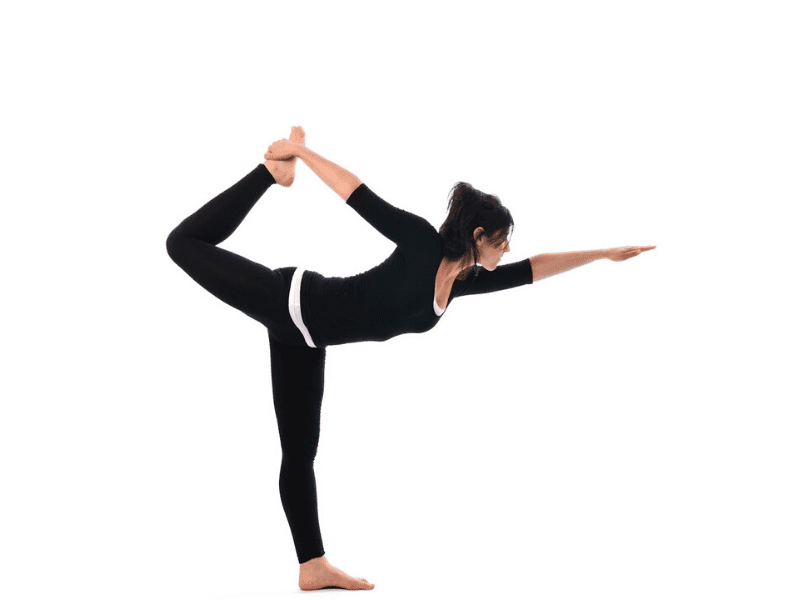 Natarajasana To Increase Concentration At Work