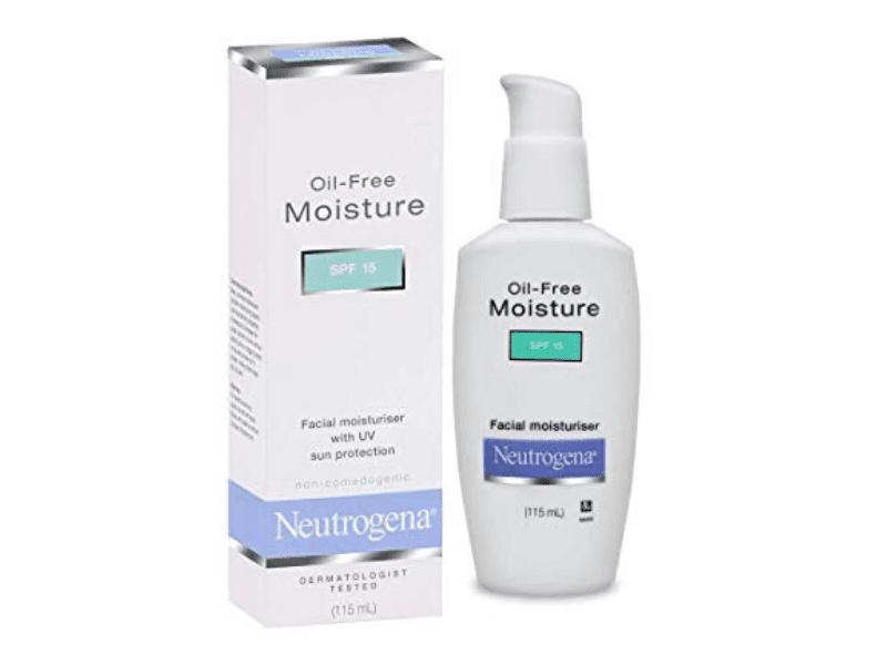 Neutrogena Oil-Free Facial Moisturizer SPF 15 Sunscreen