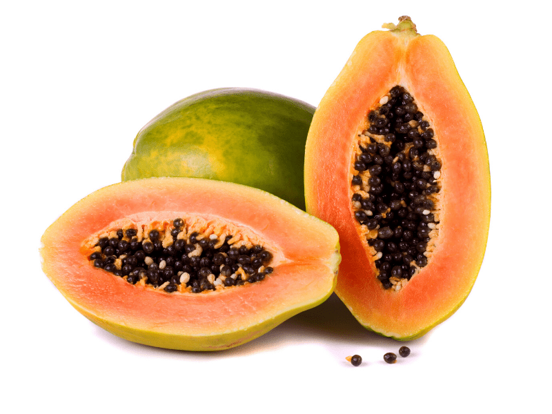Papaya Scrub For Pimple Reduction