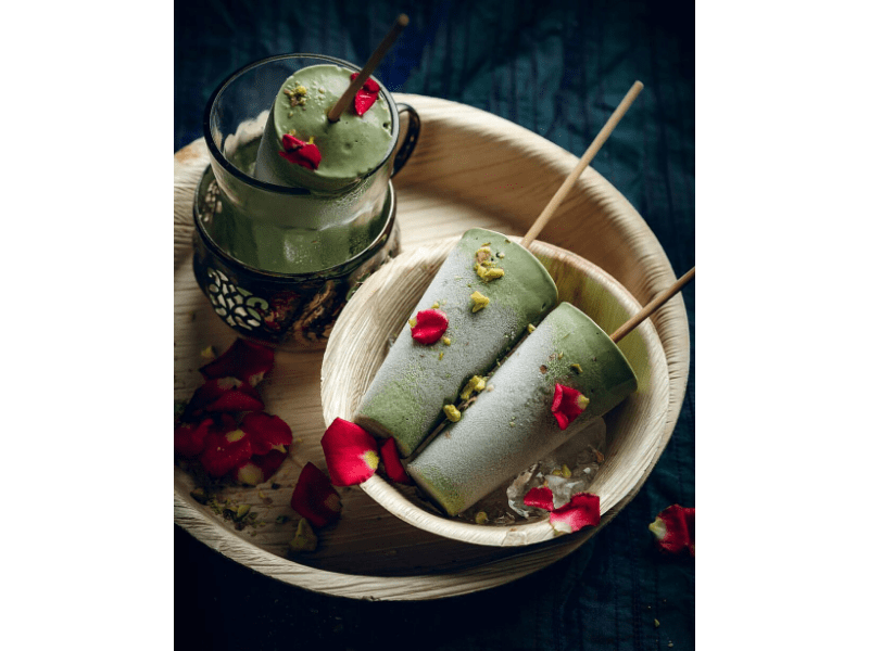 Pea And Spinach Popsicle Recipe