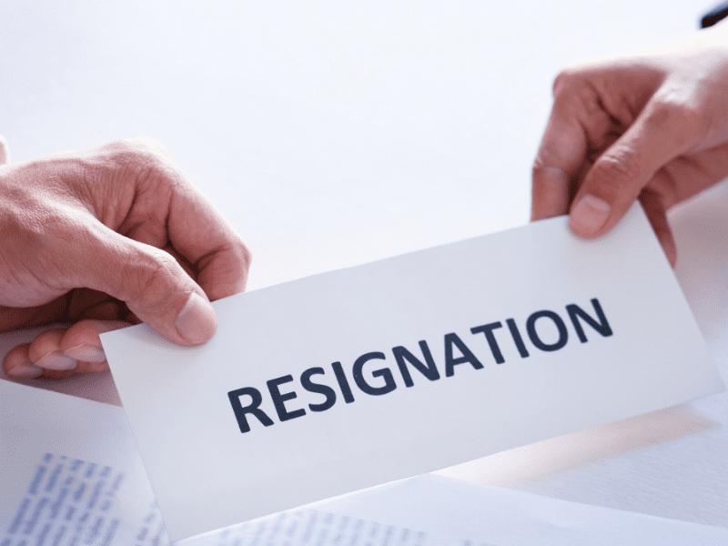 Provide Prior Resignation Notice
