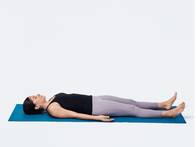 Savasana For Better Sleep