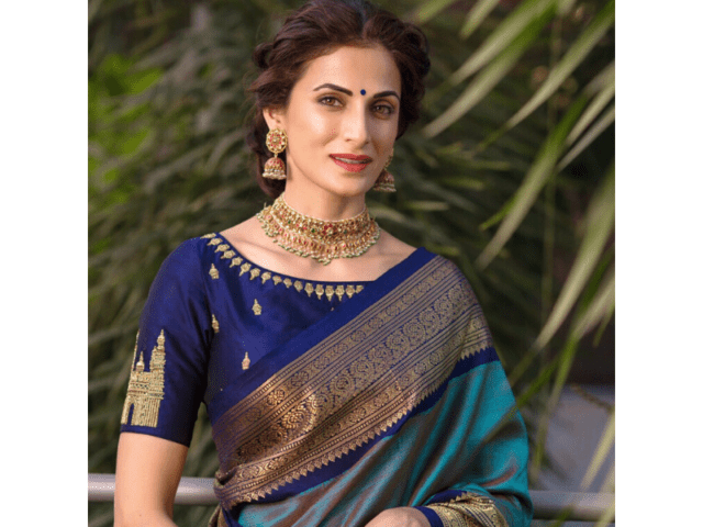 Choker For Silk Saree