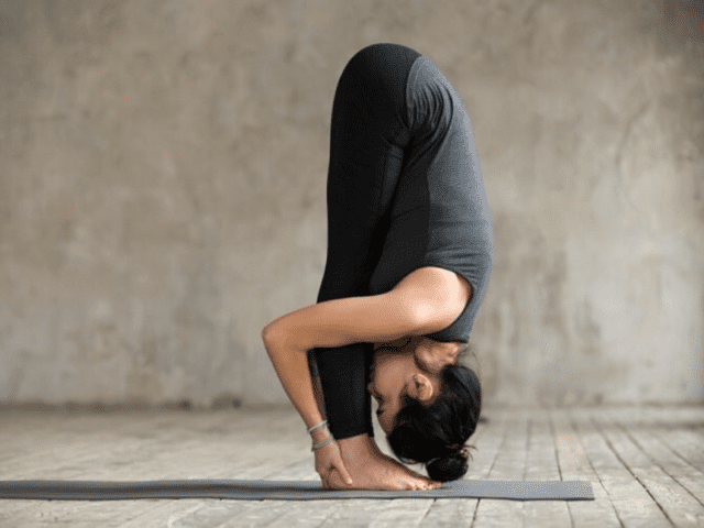 Uttanasana For Better Sleep