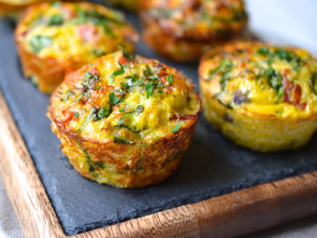 Vegetable And Rice Muffin Recipe