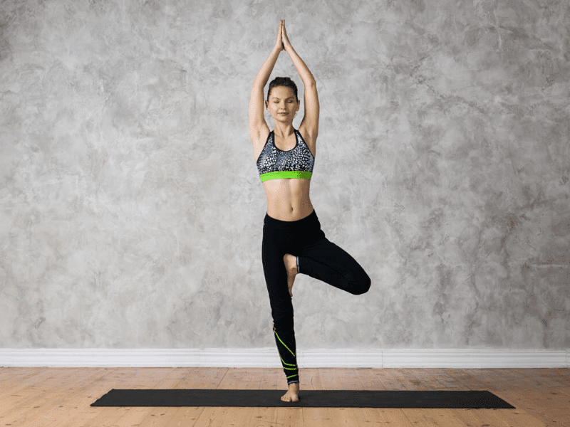 Vrikshasana For Improving Concentration At Work