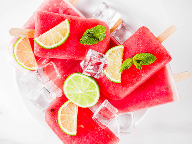 Watermelon Popsicle Recipe