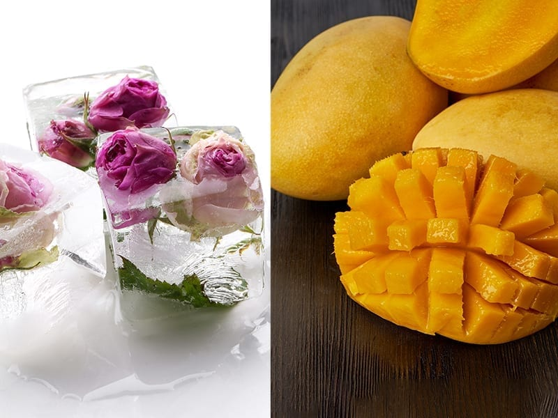 Rose Water And Mango Face Pack