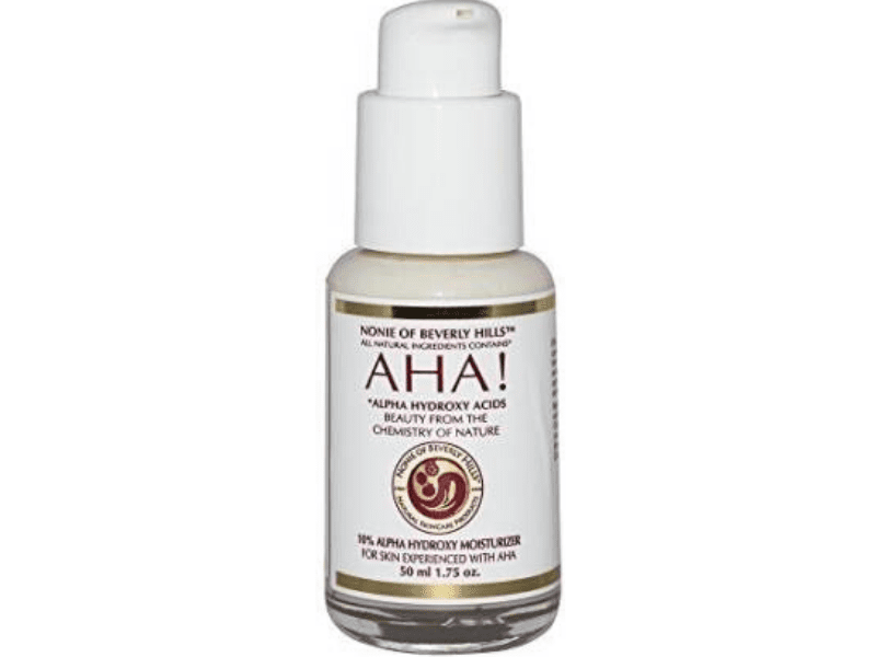 Alpha Hydroxy Acid For Whitehead Removal