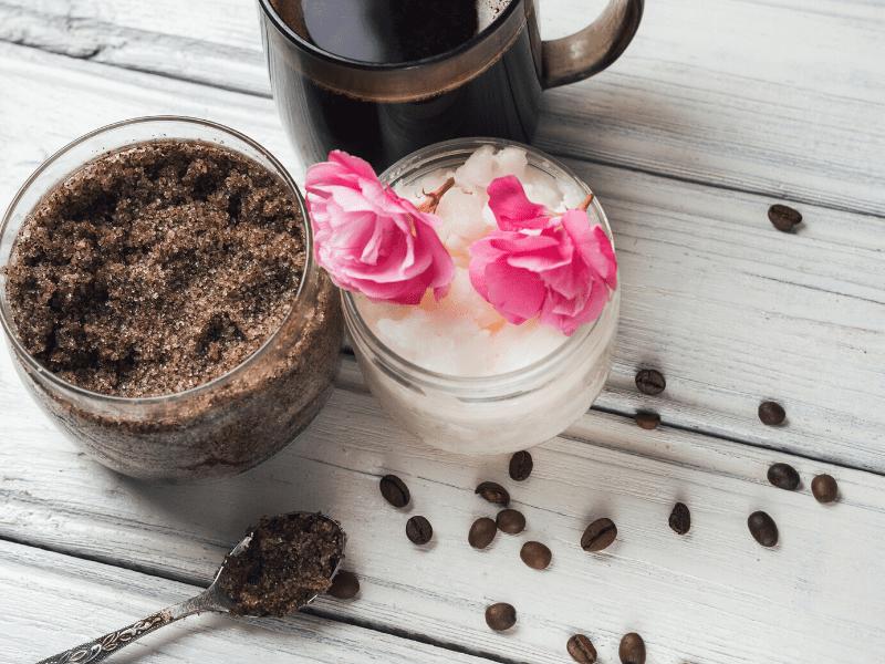 Caffeine Scrub Booster For Cracked Heels