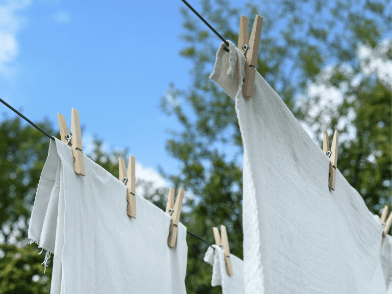 What Causes Stains On White Clothes