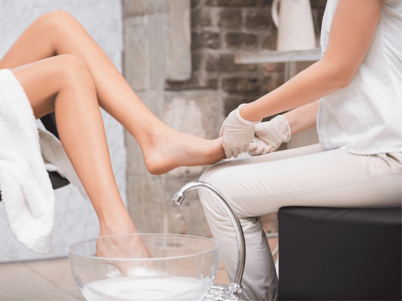 Get Rid Of Cracked Heels With Foot Soak