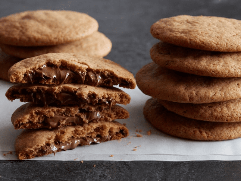 Nutella Cookies Recipe