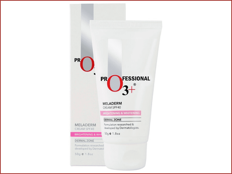 o3+ Dermal Zone Meladerm Cream SPF 40 For Tan Removal