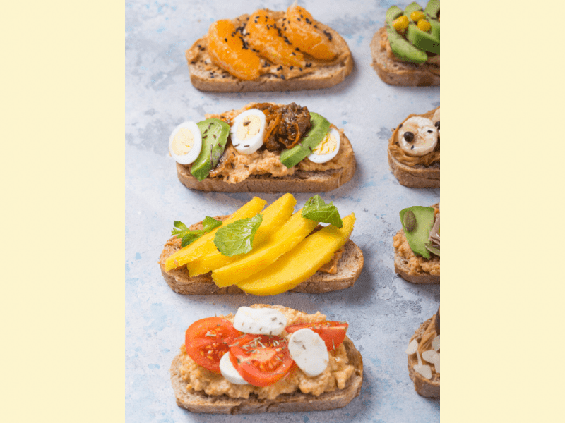 Peanut Butter In Sandwiches