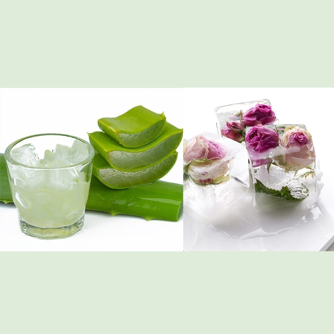 Rose Water And Aloe Vera Face Mask