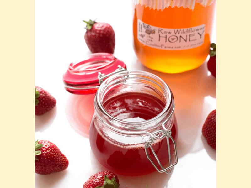Strawberry And Honey Face Mask