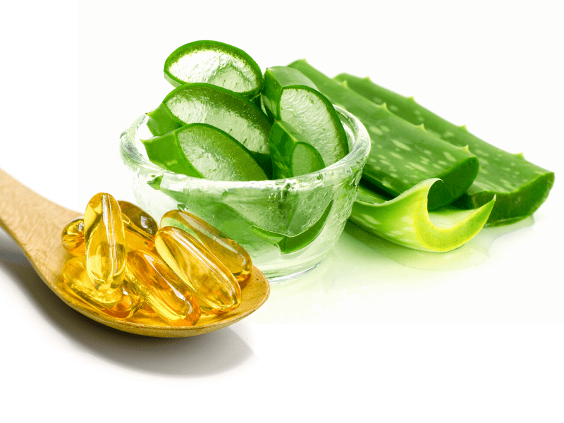 Vitamin E Oil For Sunburn Recovery