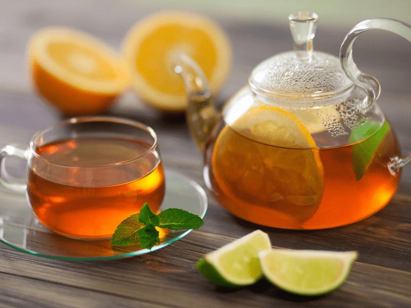 Green Tea For Sunburn Removal