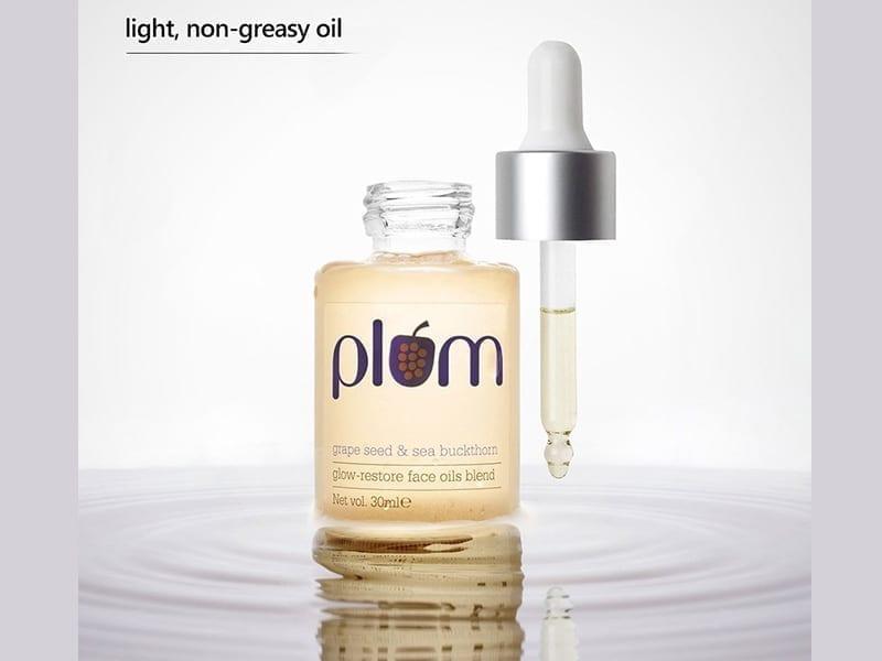 Plum Grape Seed & Sea Buckthorn Glow-Restore Face Oil Blend