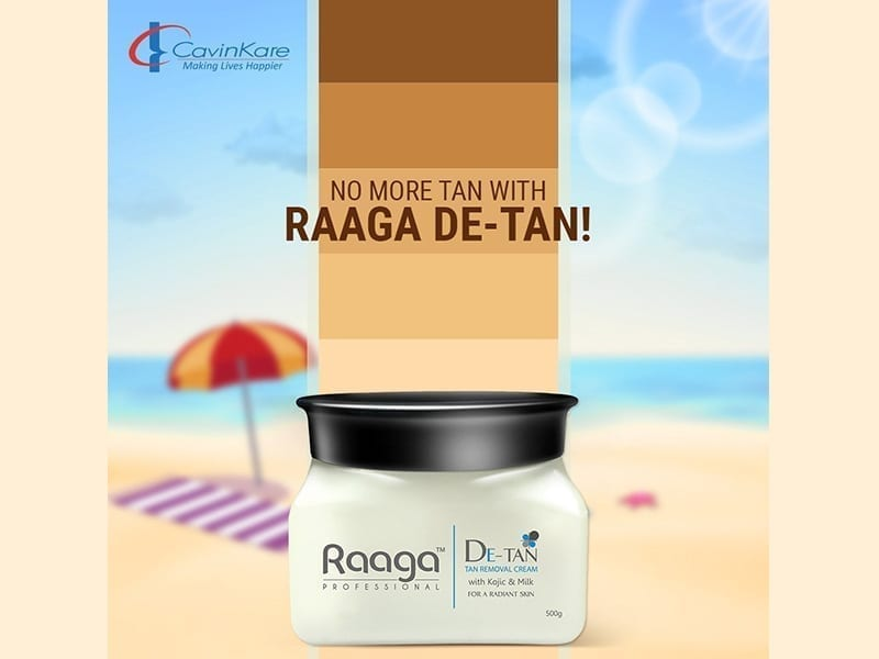 Raaga Professional De Tan Removal Cream